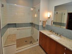 Cabinet colour Mid-Century Modern Master Suite - Midcentury - Bathroom - Seattle - Ventana Construction LLC