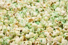 Green Popcorn Recipe for St. Patrick's Day