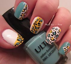 Yellow mint leopard left hand. Sooo lovely!!!
