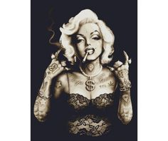 gangster marilyn monroe graphics - Google Search