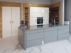 Kuchnia wystawa Klimek Kitchen Island, Kitchen Cabinets, Home Kitchens, Divider, Room, Furniture, Design, Home Decor, Ideas