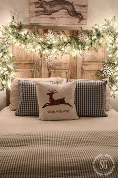 Scandi Bedroom Decor - Christmas Decor Ideas