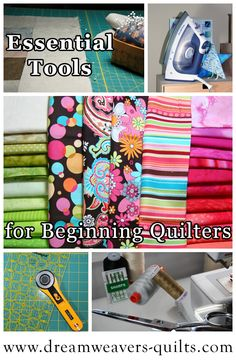 Essential Tools for Beginning Quilters