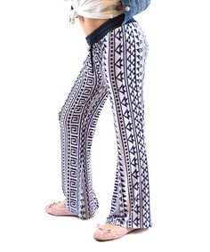 White & Black Geometric Bootcut Pants - Girls by Dinamit Jeans #zulily #zulilyfinds
