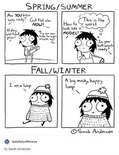 why i prefer fall and winter. i enjoy being a lump
