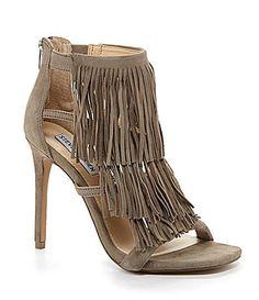 Steve Madden Fringly Fringed Sandals #Dillards