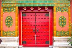 Door in china. .:!:.