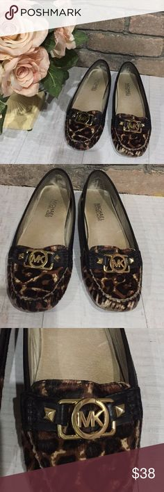 Micheal Kors Leopard flats Super cute and comfortable flat and super stylish as well Michael Kors Shoes Flats & Loafers