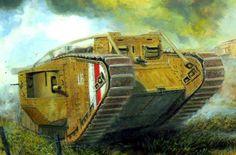 1918 Tanque Mark IV L16