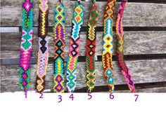 Nylon friendship bracelets. www.sundancewholesale,com