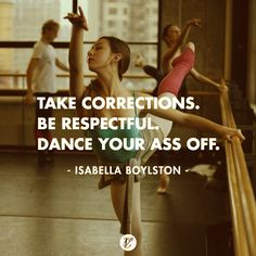 DANCE YOUR ASS OFF: Isabella Boylston, ABT's newest principal. We discussed the possibility of her becoming principal when we interviewed Isabella for our May session, and then bam — she went and did it. www.cloudandvictory.com