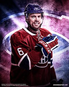 Designing Sport — Shea Weber, Montreal Canadiens