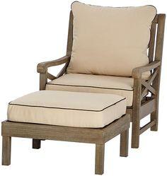 Martha Stewart Living™ Blue Hill 6 Piece Outdoor Deep Seating Set