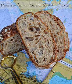 Bread and Butter.....: Pane con farina Buratto, LicoLi e un'idratazione del 100%!!!