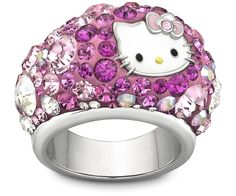 Hello Kitty Small Chic Ring. SWAROVSKI