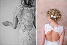 Lace Back Wedding Dresses - Part 1 | bellethemagazine.com