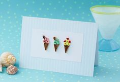 Learn to make a gorgeous ice-cream card with our step-by-step instructions on quilling Paper Quilling Cards, Paper Quilling Tutorial, Paper Quilling Patterns, Quilled Paper Art, Quilling Art, Quilling Ideas, How To Do Quilling, Paper Quilling For Beginners, Homemade Cards