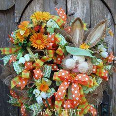 Easter-Spring Bunny Wreath