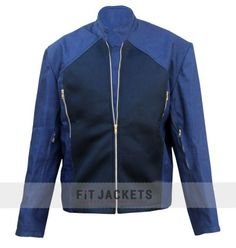 FitJackets manufactured Blue Steve Rogers Leather Jacket, taken from the blockbuster movie Captain America, Get this outstanding Captain America Jacket from our Online Jacket store with free shipping worldwide.