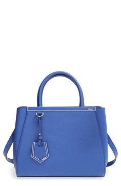 Fendi 'Petit 2Jours Elite' Leather Shopper | Nordstrom