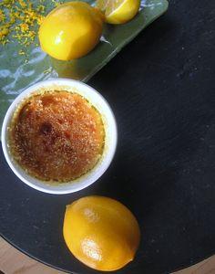 Meyer lemon creme brûlée