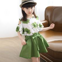 summer children clothing maple skirt sports girls clothing set 2019 new print skirt suit years old baby clothes Wholesale Clothing Online Store. We Offer Top Good Quality Cheap Clothes For Women And Men Clothing Wholesaler, # Baby Outfits, Girls Summer Outfits, Dresses Kids Girl, Summer Girls, Kids Outfits, Girls Wear, Fashion Kids, Girl Fashion, Fashion Clothes