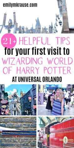 Planning to visit the Wizarding World of Harry Potter at Universal Orlando? Here's how to do Harry Potter World in one day, and what tickets you need for the Wizarding World of Harry Potter. You might be curious_ How. Universal Orlando, Universal Studios Parking, Orlando Travel, Orlando Vacation, Disney World Vacation, Orlando City, Orlando Disney, Downtown Disney, Cruise Vacation