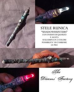 shadowhunters stele by TheDreamsFactory on Etsy
