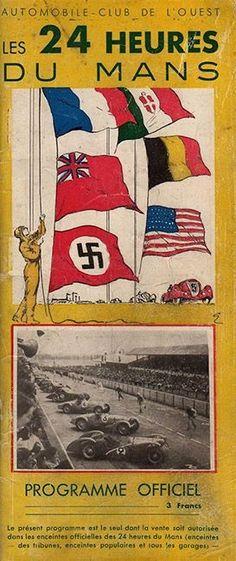 1939 24 Heures du Mans Official Program Cover