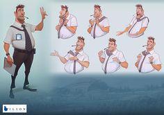 Visual Development_ Ilion Animation Studios