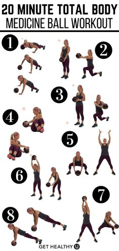 Medicine Ball Workout In need of a fresh twist on your fitness routine? Try this medicine ball workout for a total body blast!In need of a fresh twist on your fitness routine? Try this medicine ball workout for a total body blast! Training Fitness, Fitness Tips, Workout Fitness, Dumbbell Workout, Fitness Wear, Kettlebell, Blast Fitness, Shape Fitness, Boxing Workout