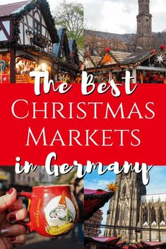 The best Christmas markets in Germany. Use this guide to plan your German Christmas market trip. Christmas Markets Germany, Christmas In Europe, Christmas Travel, Christmas Vacation, Holiday Travel, Christmas Fun, Winter Travel, Christmas Breaks, Winter Europe