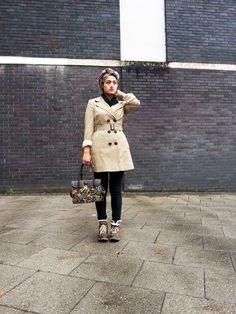 Hijabesta, hijab, scarf, turban, autumn outfit ideas, muslim fashion | Casually somewhere blog by be_es_ | benish es