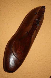 Horma de zapato restaurada