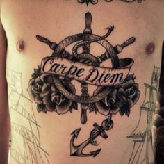 this is too amazing! best nautical tattoo i've seen in awhile