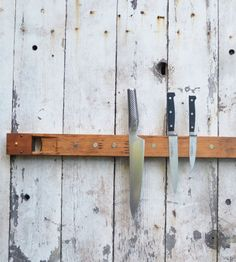 Reclaimed Organ Pipe Knife Holder   Home Kitchen & Pantry   bambeco   Scoutmob Shoppe   Product Detail