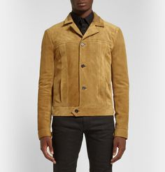 Saint Laurent - Suede Jacket