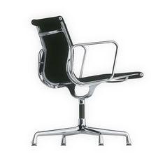 Silla Aluminium Group EA 108: Diseño clásico moderno por Charles Eames