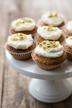 Thermomix Passion Fruit Cupcakes