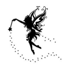 Fairy Templates On Pinterest   Fairy Silhouette Fairies And Disney