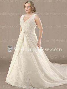 Plus Size Wedding Dress $257