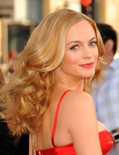 Heather Graham - Bright Spring looks wonderfull in the most saturated tints or pure warm hues.