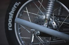 Japanese Oldspeed - Rooshers Honda CB250GT via returnofthecaferacers.com