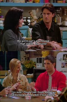 Phoebe and the jokers ~ Friends Quotes ~ Season 1, Episode 18: The One with All the Poker  #friendstv #friendsseason1 #friendsquotes