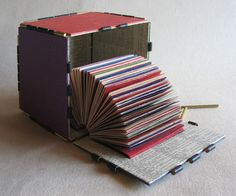 When designing an artist's book or altering a book, I try to follow the well-known preceptForm Follows Function,though it might be more accurately described asForm Follows Content in the c…