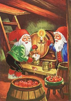 Christmas Gnome, Vintage Christmas, Christmas Holidays, Christmas Cards, Christmas Graphics, Christmas Pictures, Vintage Cards, Vintage Postcards, Gnome Pictures