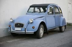 french deux chevaux car