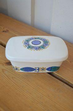 Clupea fra Stavagnerflint Mid-century Modern, Modern Design, Stavanger, Butter Dish, Norway, Scandinavian, Mid Century, Pottery, Dishes