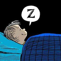 A good night of sleep!