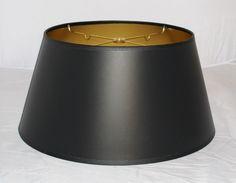 Black lamp shade bouillotte paperg 522396 bouillotte lamp bouillotte black paper lamp shade 14 19w aloadofball Images